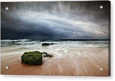 The Storm Acrylic Print by Jorge Maia