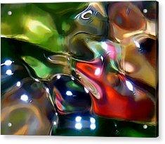 The Streambed Jazz Ensemble Acrylic Print by Terril Heilman