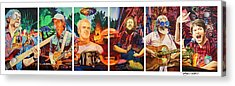 The String Cheese Incident At Horning's Hideout Acrylic Print by Joshua Morton