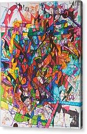The Subject In Entirety 1 Acrylic Print by David Baruch Wolk