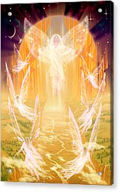 The Summoning Acrylic Print by Garry Walton