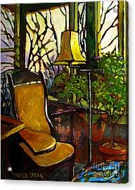The Sunroom Acrylic Print by Charlie Spear