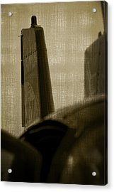 The Tail Acrylic Print by Paul Job