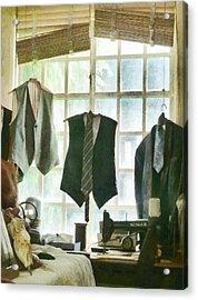 The Tailor Shop Acrylic Print by Steve Taylor