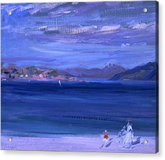 The Tale Of Mull From Iona Acrylic Print by Francis Campbell Boileau Cadell
