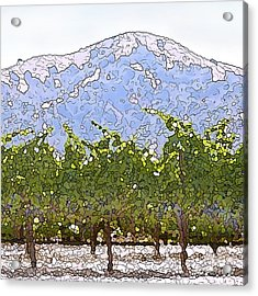 The Taste Of Wine Acrylic Print by Artist and Photographer Laura Wrede