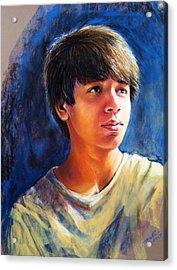 The Teenager Acrylic Print by Arti Chauhan