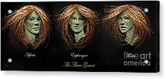 The Three Graces Acrylic Print by Adam Long