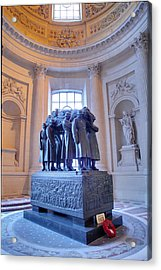 The Tombs At Les Invalides - Paris France - 011316 Acrylic Print by DC Photographer