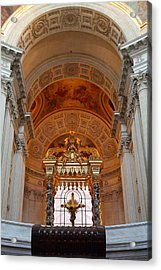The Tombs At Les Invalides - Paris France - 011333 Acrylic Print by DC Photographer