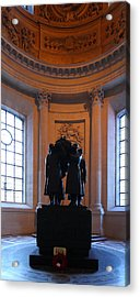 The Tombs At Les Invalides - Paris France - 01134 Acrylic Print by DC Photographer