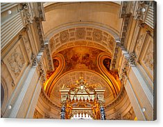 The Tombs At Les Invalides - Paris France - 01137 Acrylic Print by DC Photographer