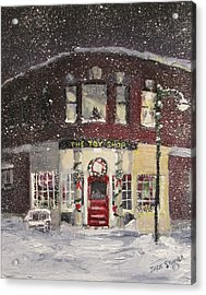 The Toy Shop Acrylic Print by Jack Skinner