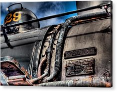 The Train Acrylic Print by DH Visions Photography