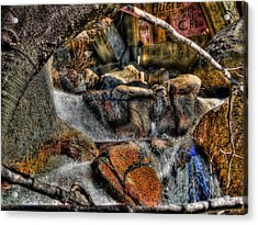 The Trolls Home Acrylic Print by Bill Gallagher