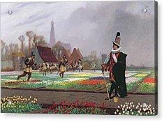 The Tulip Folly Acrylic Print by Jean Leon Gerome