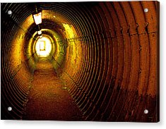 The Tunnel Acrylic Print by Theresa Tahara