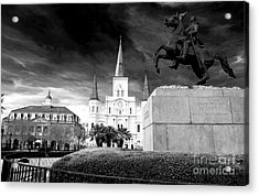 The Union Must And Shall Be Preserved Acrylic Print by John Rizzuto