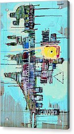 The Universe Has Begun It's Process In The Twilight Of Creation Acrylic Print by Mark M  Mellon