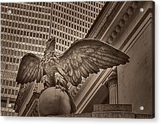 The Vanderbilt Eagle  Acrylic Print by Susan Candelario