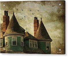 The Victorian Acrylic Print by Fran J Scott