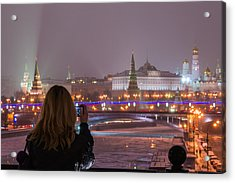 The View - Featured 3 Acrylic Print by Alexander Senin