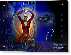 The Vision Acrylic Print by Shadowlea Is