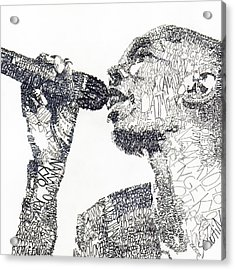 Maxi Jazz Acrylic Print by Michael  Volpicelli
