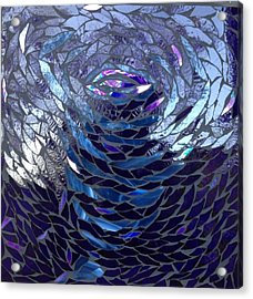 The Vortex Acrylic Print by Alison Edwards