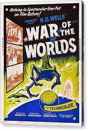 The War Of The Worlds, Poster Art, 1953 Acrylic Print by Everett