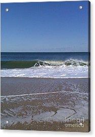 The Wave Acrylic Print by Arlene Carmel