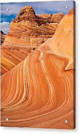 The Wave Coyote Buttes Arizona And Utah Acrylic Print by Robert Ford