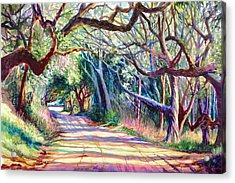 The Way Home Acrylic Print by Alice Grimsley