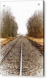 the Way Out Acrylic Print by Chuck Kugler