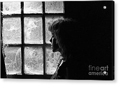 The Web Of Past Love 1980 Acrylic Print by Ed Weidman