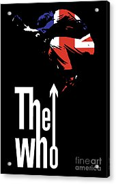 The Who No.01 Acrylic Print by Caio Caldas