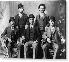 The Wild Bunch Gang Acrylic Print by Underwood Archives