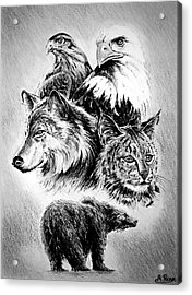 The Wildlife Collection Acrylic Print by Andrew Read