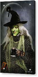 The Witch Of Endor As A Cavalier Acrylic Print by RC deWinter
