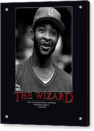 The Wizard Ozzie Smith Acrylic Print by Retro Images Archive