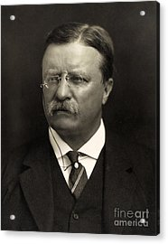 Theodore Roosevelt Acrylic Print by Unknown