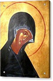 Theotokos Acrylic Print by Joseph Malham