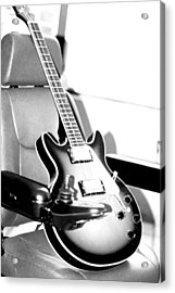 Therapeutic Guitar 3 Acrylic Print by Sandra Pena de Ortiz