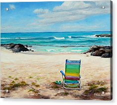 Therapy Acrylic Print by Mary Giacomini