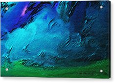 There Is Always Sky Acrylic Print by Lenore Senior
