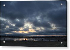There's A Freedom In The Night Acrylic Print by Laurie Search