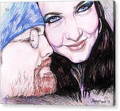 There's Nothing Like You And I Acrylic Print by Shana Rowe Jackson