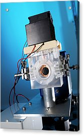 Thermal Camera For Co2 Detection Acrylic Print by Andrew Brookes, National Physical Laboratory