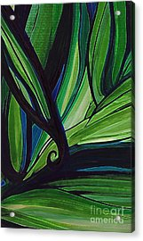 Thicket Acrylic Print by First Star Art