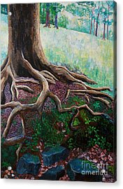 Thinking About Eternity Acrylic Print by Arthur Witulski